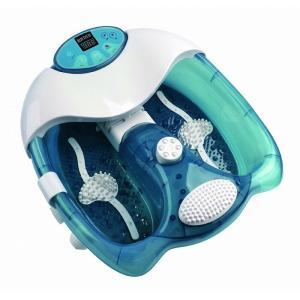 フットバス 楽湯~極~ バブル バイブ ヒーター 3種類 足湯 お風呂 気持ちい リラックス 代引不可の画像