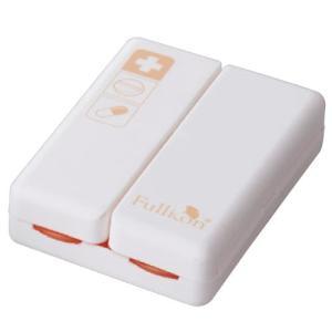 イーリンクプラスチック社 マグネットおくすりケース カラー:オレンジ SB006O