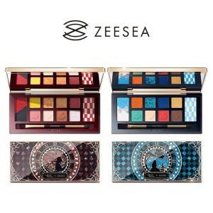 ZEESEA ズーシー ×大英博物館 アリス ドリームランドシリーズ アイシャドウパレット アイシャドウ パレット 高品質 耐久性 リコメン堂