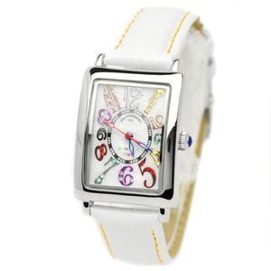 pierretalamon ピエールタラモン 腕時計 レディースウォッチ レクタンギュラー カラフルインデックス ジルコニアウォッチ セイコームーブ PT-9500L-1|recommendo