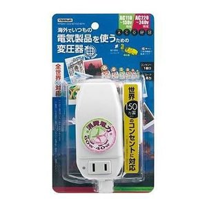 YAZAWA ヤザワ 海外用旅行用マルチプラグ変圧器130V240V6040W HTDM130240V6040W