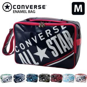 コンバース CONVERSE スポーツバッグ エナメルバッグ 通学バッグ ショルダーバッグ Mサイズ C1612053 18L|recommendo