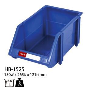 パーツボックス 部品 パーツ 収納 ケース SHUTER シューター HB-1525 (5個入り)|recoshop