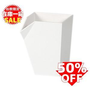 在庫一掃セール!ペン立て おしゃれ livinbox ホワイト PB-0707 5個セット|recoshop