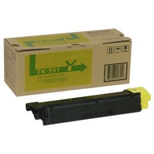 TK-591Y トナーカートリッジ イエロー 国内純正品 Kyocera mita,京セラミタ カラープリンター ECOSYS FS-C2126 C5250 C2626 P6026|recycle-astm