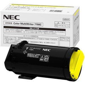 PR-L7700C-16 トナーカートリッジ イエロー 大容量 NEC【国内純正品】日本電気 カラープリンター ColorMultiWriter 7700C|recycle-astm