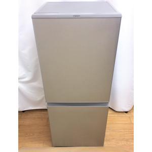 冷蔵庫 2ドア冷蔵庫 AQUA アクア 126L 2019年製 AQR-13H シルバー