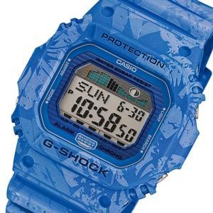 カシオ CASIO Gショック G-SHOCK Gライド メンズ 腕時計 GLX-5600F-2 ブルー