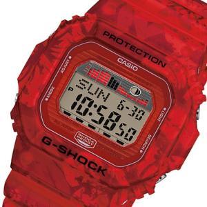 カシオ CASIO Gショック G-SHOCK Gライド メンズ 腕時計 GLX-5600F-4 レッド