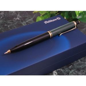 ペリカン PELIKAN SOUVERAN ボールペン K400 グリーン縞