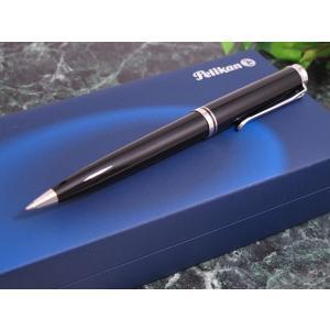 ペリカン PELIKAN SOUVERAN SILVER TRIM ボールペン K805 ブラック
