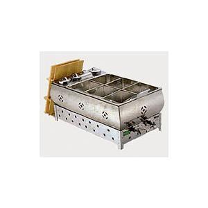 新品:EBM ガス燗付おでん鍋 6ッ切 マッチ点火 recyclemart