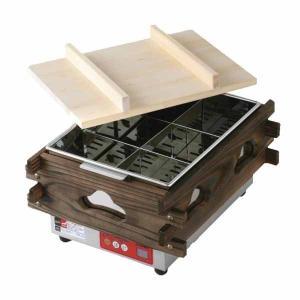 新品:エイシン 電気おでん鍋(マイコン制御) 幅370×奥行470×高さ279(mm) CVS-6D(6ツ切)|recyclemart