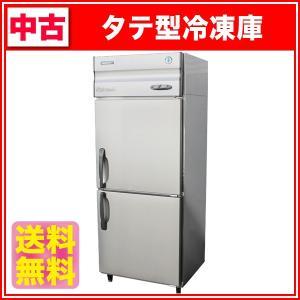 中古:ホシザキ タテ型冷凍庫 HF-75XT3 幅750×奥行650×高さ1890(mm) 2008年製|recyclemart
