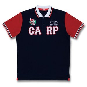 広島東洋カープ CARP 2018年 数量限定商品 アップリケポロシャツ(紺)Carp PR|red-monkey