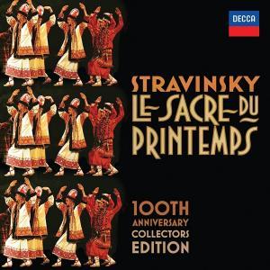 新品 送料無料 ストラビンスキー Le Sacre Du Printemps: 100th Anniversary Box set, CD, Collector's Edition, Import I. Stravinsky(0028947837299)|red-monkey