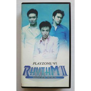 (USED品/中古品) 少年隊 PLAYZONE '97 RHYTHM 2 VHS ビデオ 未DVD PR|red-monkey