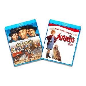 送料無料 ブルーレイ2枚パック オリバー  /アニー Blu-ray マーク・レスター ジャック・ワイルド キャロル・リード PR|red-monkey