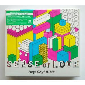 X 新品送料無料 SENSE or LOVE (初回限定盤) (CD+DVD) CD+DVD Limited Edition Hey!Say!JUMP ヘイセイジャンプ