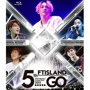 """新品 送料無料 FTISLAND 5th Anniversary Arena Tour 2015 """"5.....GO"""