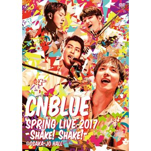 新品 送料無料 CNBLUE SPRING LIVE 2017 -Shake Shak- @OSAKA-JO HALL  DVD|red-monkey