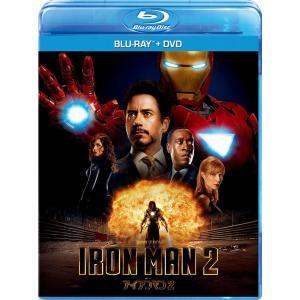 アイアンマン2 ブルーレイ+DVDセット Blu-ray ロバート・ダウニー・Jr. グウィネス・パルトロウ ジョン・ファヴロー MARVEL マーベル PR|red-monkey