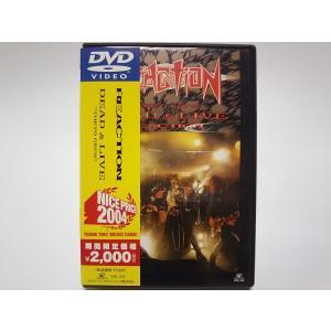(USED品/中古品) REACTION DVD DEAD & LIVE TOKYO GIG'S  ...