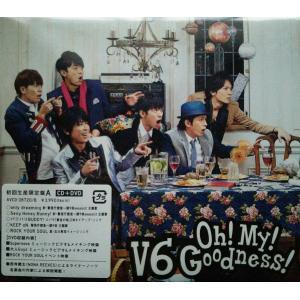 新品 送料無料 V6 Oh  My  Goodness  (ALBUM+DVD) (初回生産限定A) CD+DVD ジャニーズ PR|red-monkey