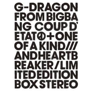 送料無料 G-DRAGON from BIGBANG 2CD+DVD+PHOTO BOOK+GOODS COUP D'ETAT ONE OF A KIND & HEARTBREAKER 初回生産限定盤 PR|red-monkey