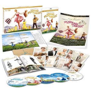 送料無料 サウンド・オブ・ミュージック 製作50周年記念版 ブルーレイ・コレクターズBOX(5枚組)(5,000セット完全数量限定)  Blu-ray|red-monkey