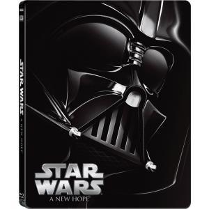 新品 送料無料 スター・ウォーズ エピソードIV/新たなる希望 スチールブック仕様  Blu-ray...