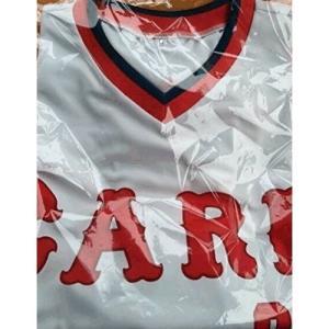 (USED品/中古品) 広島東洋カープ CARP タワーレコード 限定品 コラボ Tシャツ XLサイズ PR red-monkey