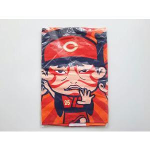 広島東洋カープ カ舞吼フェイスタオル 着用試合 限定 Kabuku 新井貴浩 など CARP 未使用品 PR|red-monkey