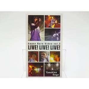 新品 曾我泰久 VHS Super Rare Video Vol.2 LIVE LIVE LIVE Yasuhisa Soga THE good-bye ザ・グッバイ ビデオ PR red-monkey