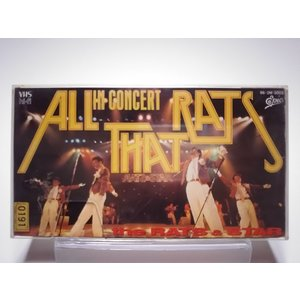 (USED品/中古品) ラッツ&スター VHS ALL THAT RATS the RATS & STAR in CONCERT ビデオ PR|red-monkey