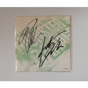 B'z 会場限定品 直筆サイン色紙 LIVE-GYM 2006 MONSTER'S GARAGE L...