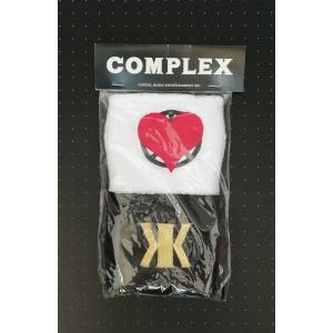 COMPLEX ライブグッズ 日本一心 リストバンド 2011年東京ドーム 復活ライブ 吉川晃司 布袋寅泰 PR red-monkey