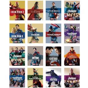 MARVEL MovieNEX アウターケース付き 全16巻セット Blu-ray マーベル PR