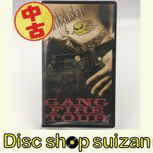 (USED品/中古品) Earthshaker GANG FIRE TOUR VHS ビデオ アースシェイカー PR|red-monkey