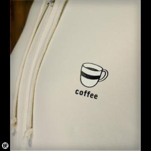 パーカー メンズ レディース フルジップPK coffee ナチュラル|redbros