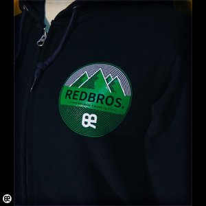 パーカー/メンズ/レディース/フルジップPK : 山ブロス : ネイビー|redbros