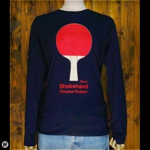 ロンT/メンズ/レディース/長袖/Tシャツ : PingPong(NY) : ネイビー|redbros