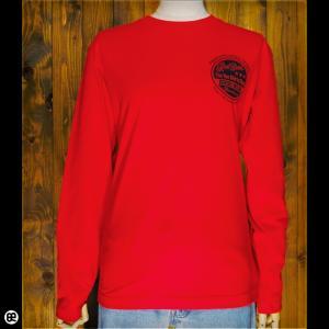 ロンT メンズ レディース 長袖 Tシャツ RB logo(RD) レッド|redbros
