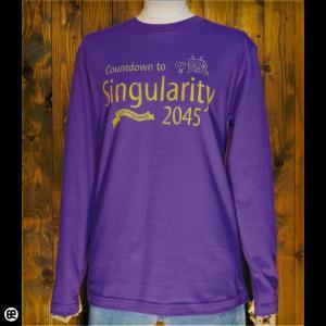 ロンT/メンズ/レディース/長袖/Tシャツ : Singularity : バイオレットパープル|redbros