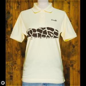 ポロシャツ/メンズ/レディース/5.3oz速乾ポロ : Giraffe : カスタード|redbros