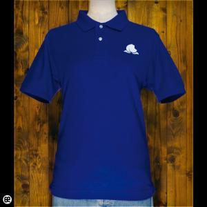 ポロシャツ メンズ レディース 5.3oz速乾ポロ Peach Inc コバルトブルー|redbros