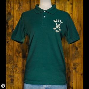 ポロシャツ メンズ レディース 5.3oz速乾ポロ BOGEY ブリティッシュグリーン|redbros