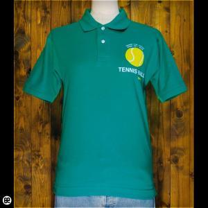 ポロシャツ メンズ レディース 5.3oz速乾ポロ TENNIS COURT グリーン|redbros