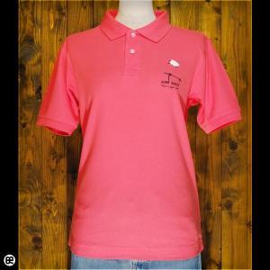 ポロシャツ メンズ レディース 5.3oz速乾ポロ Jump Sheep フラミンゴピンク|redbros