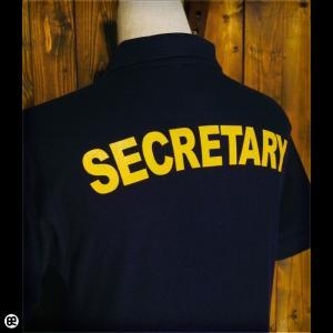 ポロシャツ/メンズ/レディース/5.3oz速乾ポロ : 秘書 : ネイビー|redbros